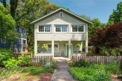 Asheville Single Family Home For Sale: 75 Magnolia Avenue