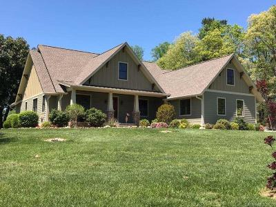 Buncombe County, Haywood County, Henderson County, Madison County Single Family Home For Sale: 70 Skytop Farm Lane