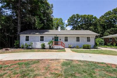Charlotte Single Family Home For Sale: 1801 Tyvola Road