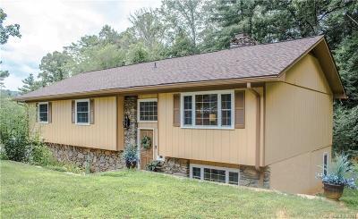 Asheville Single Family Home For Sale: 726 Aiken Road
