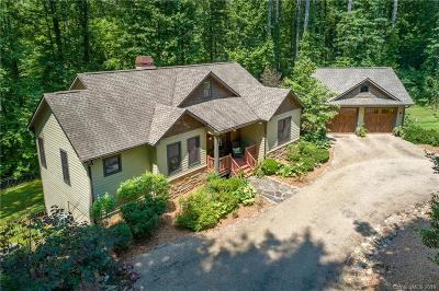 Transylvania County Single Family Home For Sale: 155 Mountain Brook Trail