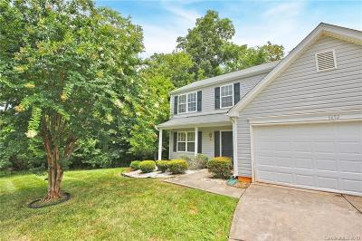 Charlotte Single Family Home Under Contract-Show: 6652 Rustic View Court