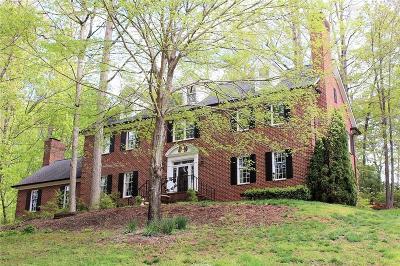 Lenoir Single Family Home For Sale: 405 Stonecroft Drive SE