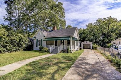 Rock Hill SC Single Family Home For Sale: $159,000