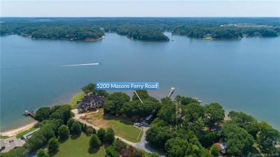 Clover, Lake Wylie Single Family Home For Sale: 5200 Masons Ferry Road