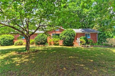 Charlotte Single Family Home For Sale: 6820 Pleasant Grove Road