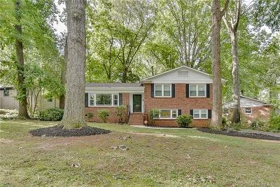 Mecklenburg County Single Family Home For Sale: 6209 Candlewood Drive