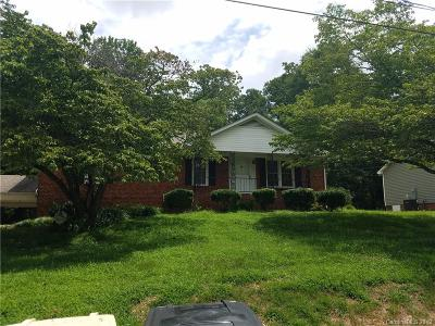 Kannapolis Single Family Home Under Contract-Show: 1017 Hoke Street