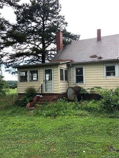 Single Family Home For Sale: 11400 Kluttz Road