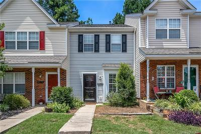 Charlotte Condo/Townhouse For Sale: 12379 Paperbark Circle