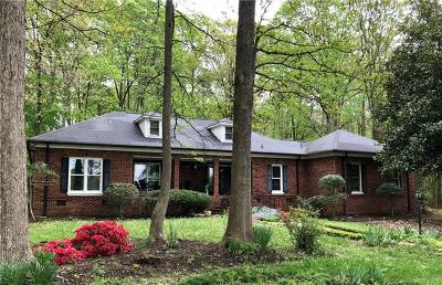Waxhaw Single Family Home For Sale: 6629 Raymond Helms Road
