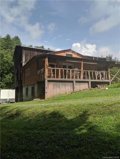Marshall NC Single Family Home For Sale: $132,000