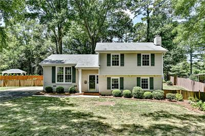 Charlotte Single Family Home Under Contract-Show: 3920 Pemberton Drive