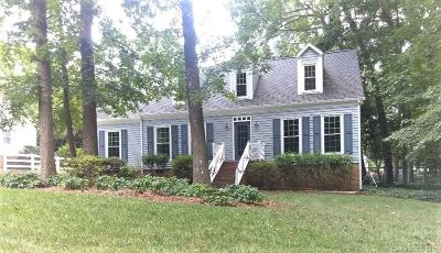 Charlotte Single Family Home For Sale: 6510 Woodshed Circle