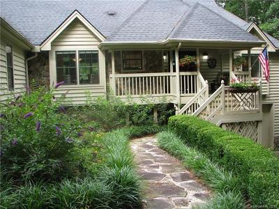 Transylvania County Single Family Home For Sale: 141 Rushing Springs Lane
