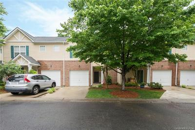 Charlotte Condo/Townhouse For Sale: 16737 Commons Creek Drive