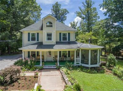 Black Mountain Single Family Home For Sale: 1120 Montreat Road