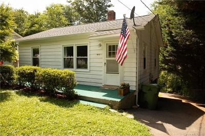 Asheville Single Family Home For Sale: 53 Riverview Drive