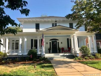 Statesville Single Family Home For Sale: 437 Walnut Street