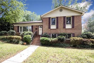 Charlotte Single Family Home For Sale: 1900 Wensley Drive