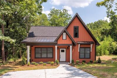 Charlotte Single Family Home Under Contract-Show: 1222 Fairmont Street