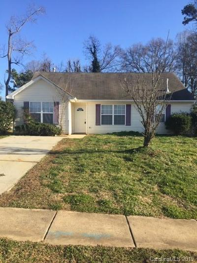 Charlotte Single Family Home For Sale: 4922 Elizabeth Road