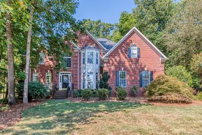 Mint Hill Single Family Home For Sale: 6301 Hollow Oak Drive