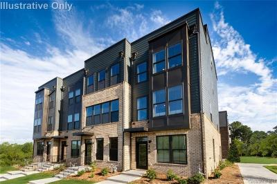 Charlotte Condo/Townhouse For Sale: 155 Fender Place #1006D