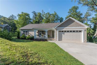 Candler Single Family Home Under Contract-Show: 63 Luther Cove Road