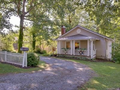 Brevard Single Family Home For Sale: 100 Thomas Street