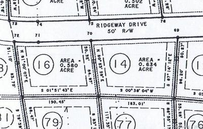 Mars Hill Residential Lots & Land For Sale: 14-16 Overlook Drive #14 &