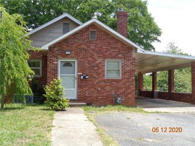 Catawba County Single Family Home For Sale: 417 19th Street SW