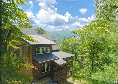 Hot Springs Single Family Home For Sale: 545 High Mountain Road