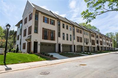 Charlotte Condo/Townhouse For Sale: 2934 Hillside Springs Drive