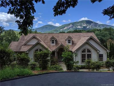 Lake Lure Single Family Home For Sale: 180 Chapel Point Road