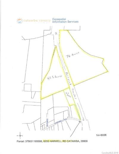 Catawba Residential Lots & Land For Sale: 6200 Harwell Road