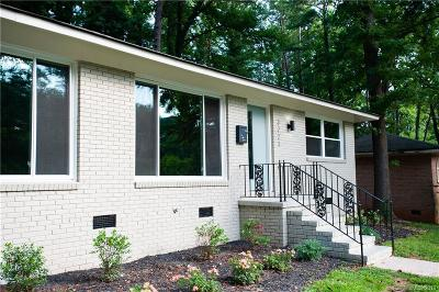 Charlotte Condo/Townhouse For Sale: 3221 Erskine Drive