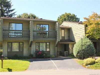 Waynesville Condo/Townhouse For Sale: 80 Ninevah Road