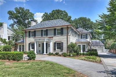 Charlotte Single Family Home Under Contract-Show: 1641 Queens Road W