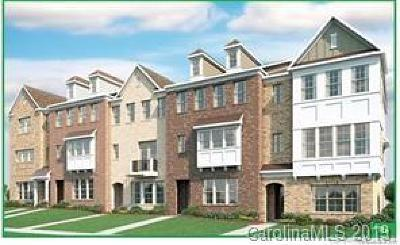 Providence Country Club Condo/Townhouse For Sale: 7941 Reunion Row Drive #Lot 138