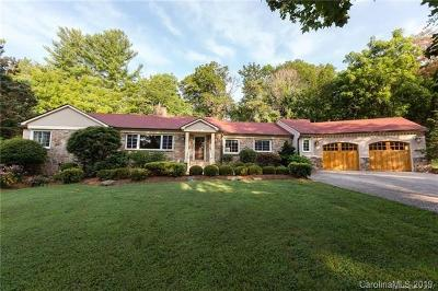 Asheville Single Family Home For Sale: 43 Martindale Road