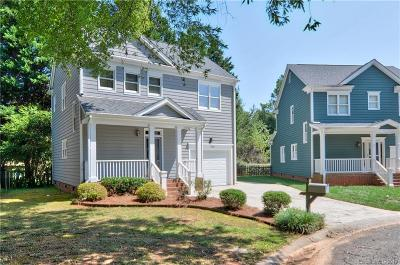 Huntersville Single Family Home Under Contract-Show: 9423 Holly Bend Lane