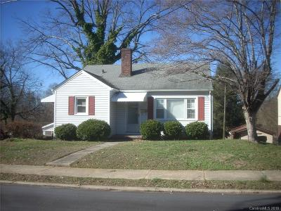Hickory NC Single Family Home For Sale: $80,000