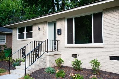 Charlotte Condo/Townhouse For Sale: 3219 Erskine Drive
