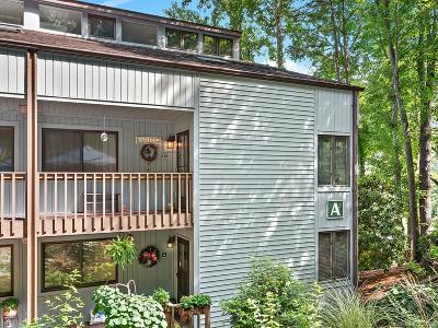 Waynesville Condo/Townhouse Under Contract-Show: 87 Willow Road #A-12