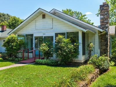 Weaverville Single Family Home For Sale: 120 South Main Street