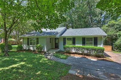Charlotte Single Family Home Under Contract-Show: 3518 Barclay Downs Drive
