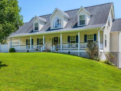 Marshall Single Family Home For Sale: 1158 Tillery Branch Road