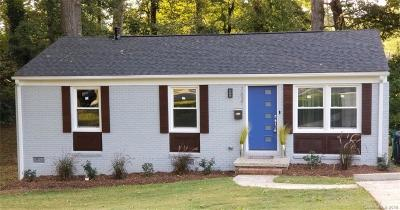 Single Family Home For Sale: 3821 Dunwoody Drive