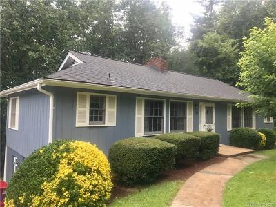 Asheville Single Family Home For Sale: 40 Leisure Mountain Road